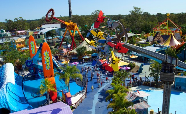 School Holidays Theme Parks